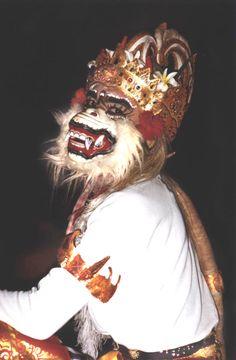 Hanuman, Kecak Dance, Bali - Ubud, Bali