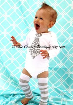Hey, I found this really awesome Etsy listing at https://www.etsy.com/listing/78912080/baby-boy-necktie-tie-bodysuit-and-leg