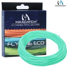 Floating Fly Line WF 2/3/4/5/6/7/8F Weight Forward Floating Teal Fly Fishing Line //Price: $15.99 & FREE Shipping //     #fishing #flyfishing #trout #fish #fishinglife