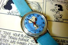 Wrist Watch Snoopy. I had this exact one when I was little!!! ♡