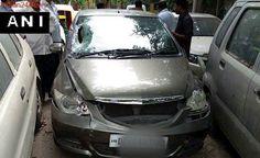 Car runs over 4, 'CPM leader's son at wheel'