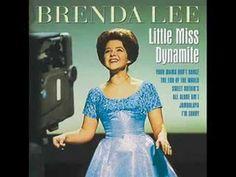 """Brenda Lee - I'm Sorry . """"I'm Sorry"""" is a 1960 hit song by American singer Brenda Lee. Pop Songs, Music Songs, Music Videos, Brenda Lee, 50s Music, American Bandstand, Country Songs, Types Of Music, Sweet Nothings"""