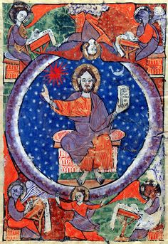 Christ In Majesty | Beatus of Liébana | Las Huelgas Apocalypse | 1220 | The Morgan Library & Museum                                                                                                                                                                                                                                                                      20 Repins