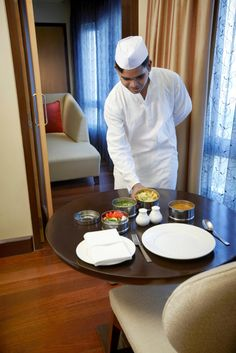Take a glimpse at the unusual service of the Dabbawallas in your room only at Vivanta By Taj – President. #Dabbawalla #Dining #Hotel #Mumbai