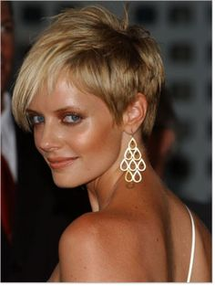 Short Layered Hairstyles for Women Over 50 with Round Faces | Short Funky Hairstyles for Women Pictures
