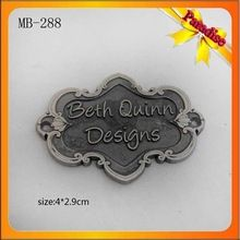Garment Logo Tag, Garment Logo Tag direct from Guangzhou Topwin Metal Accessories Ltd. in China (Mainland)