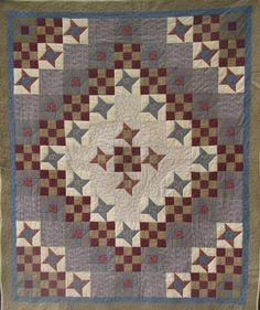 Stars Over Cedar Creek Quilt PDF Pattern by quiltdoodledesigns