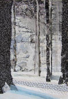 "Saatchi Art Artist Anastasia Zielinski; Collage, ""Dreamscape SOLD"" #art"