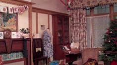 The 1940s House: Decorated for Christmas