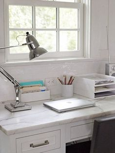 The best home office organizing and decorating tips.