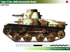 Type 4 Ke-Nu Light Tank