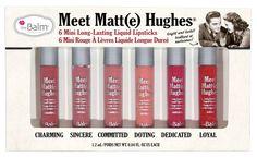 "Use ""ipsy20"" code for 20% Off.  Meet Matte Hughes® -- Set of 6 Mini Long-Lasting Liquid Lipsticks"