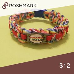"""GAY PRIDE PARACORD BRACELET. SIZE M. NEW This bracelet was Handmade by the seller MomozClozet. Everything about the Bracelet I made myself except for the charm  Gay Pride Paracord Bracelet Brand new - Handmade Size Medium 3/8"""" PLASTIC Claps 550 Paracord used   ** BUNDLE TO SAVE ON ITEMS ** ** I WILL ACCEPT REASONABLE OFFERS ** Handmade by Seller Jewelry"""