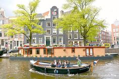 Amsterdam - boat trip in the city www.aruralchiclifestyle.com Amsterdam Travel, Trips, Boat, City, Viajes, Dinghy, Traveling, Boats, Cities