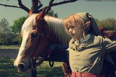 Link and Epona cosplay!