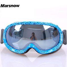 skiing mirror antimist anti-fog uv snowboard ski glasses
