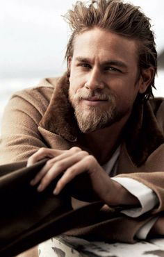 Charlie Hunnam :) Sons of Anarchy.... this picture actually makes me wish he was still doing 50 shades of grey :(