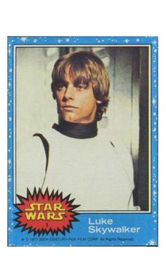 Star Wars Trading Cards.