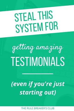 You're gonna love this fool-proof system for getting awesome feedback that will help you get more clients and customers.