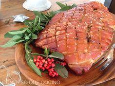 Confieso que cocino: Pierna de Cerdo Asada Pork Leg Roast, Carne Asada, Pork Chop Recipes, Tuna, Food And Drink, Fish, Meat, Ideas Para, Soups