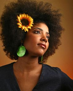 Flower power! Follow BHI on Facebook & Twitter too!  http://www.facebook.com/blackhairinformation https://twitter.com/#!/BlackHairInfo