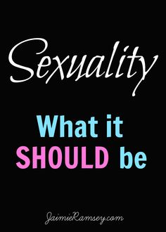 What does the Bible say about sex and sexuality? How should we, as Christians, be viewing this in our day and age?