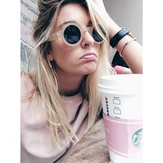 camtyox's photo on Instagram Camille Charriere, Bel Air, Wildfox, Round Sunglasses, Instagram Posts, Style, Fashion, Swag, Moda
