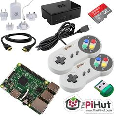 Raspberry Pi 3 Retro Gaming Bundle - RASPBERRY PI ACCESSORIES - The Pi Hut - 1