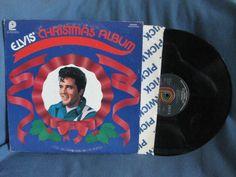 RARE Vintage Elvis Presley  Elvis' Christmas by sweetleafvinyl, $8.99