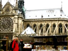 Paris, France: Notre Dame, High Gothic Cathedral in all of its glory. Photo by Alexandra Gargon