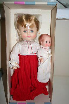 Vintage Effanbee Doll in Original Box
