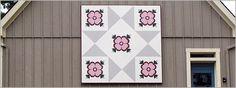 Appliqué pattern barn quilt Love it!