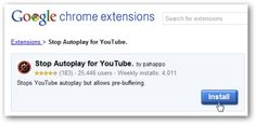 Stop YouTube Videos from Automatically Playing In Chrome