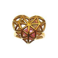 a38f44861 Treat her to something special this Valentine's! 💖 New 9ct Gold Filigree  Heart Ring.