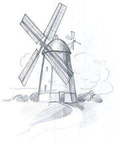 Draw a Windmill - wikiHow
