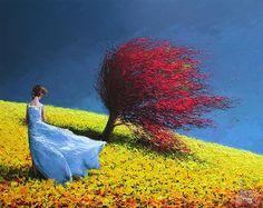 A explosão de cores e sensações nas obras de Dima Dmitriev