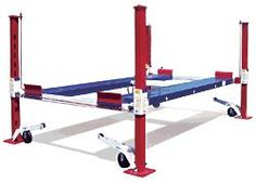 Backyard Buddy standard 7,000 pound auto and truck lifts. Made in America #MadeiNSUA via BuyDirectUSA.com #DIY