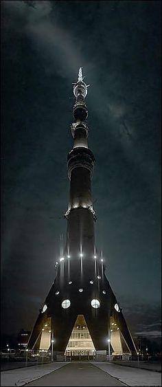 Amazing Ostankino Tower | #Information #Informative #Photography