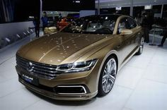 The Volkswagen Sport Coupe GT Concept - 2015 Shanghai car show