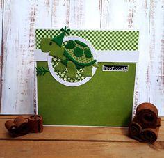 Marianne Design, Animal Cards, Cardmaking, Cute Animals, Van, How To Make, Blog, Turtle, Cards