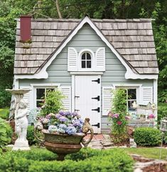 Romantic Shabby Chic Cottage Decoration Ideas 42