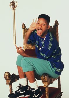 Mr Will Smith...forever the Fresh Prince :)