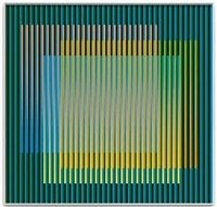 Cromografía 1620 B by Carlos Cruz-Diez✖️More Pins Like This One At FOSTERGINGER @ Pinterest ✖️Fosterginger.Pinterest.Com.✖️No Pin Limits✖️