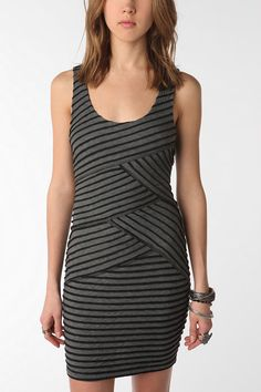$49.00 Sparkle & Fade Crisscross Bodycon Dress from Urban Outfitters. Love the versatility. Could see this dressed up, or casual.