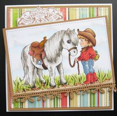 Good Pony [C1077] - $8.00 : Whimsy Stamps