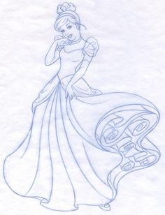 Disney Princess new redesign - Style Guide Art by Cyndy Bohonovsky, via Behance