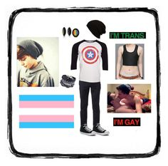"""""""FtM transgender"""" by voldy-moldy ❤ liked on Polyvore featuring Urban Pipeline, Marvel Comics, Converse, ALDO, men's fashion and menswear"""