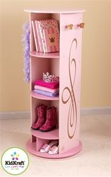 The little princess in your life is sure to love our KidKraft Princess Dress Up Unit! The Kidkraft Princess Dress Up Unit swivels and features a mirror, 5 convenient storage compartments, 4 crown-shaped knobs for hanging dress-up clothes and more. Pink Princess Dress, Princess Room, Princess Bedrooms, Baby Princess, Princess Mirror, Princess Nursery, Princess Gowns, Toddler Furniture, Kids Bedroom Furniture