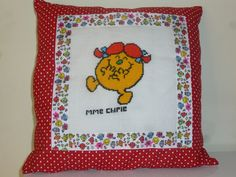 coussin MMe Chipie