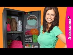 How to Organize Your Locker - Locker Organization & Decorating Ideas - YouTube   this video will help you organize your locker and also decorate it !!